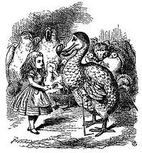 Alice nel Paese delle Meraviglie e il dodo