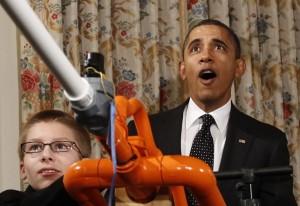 Joey e Obama sparano merighe