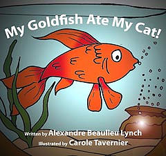 My goldfish ate my cat !
