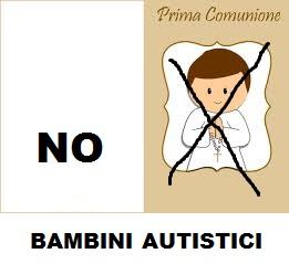 prima comunione negata bambino autistico