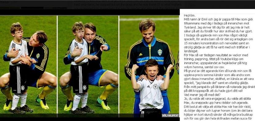bambino calciatore autismo svezia