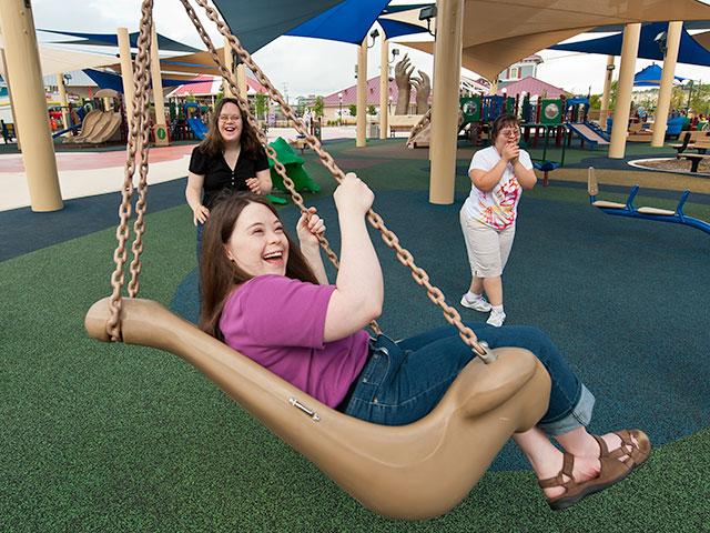 Texas: Un parco attrazioni  gratuito concepito per le personedisabili