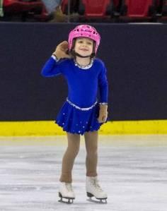 océane bambina autismo sport pattinaggio sul ghiaccio